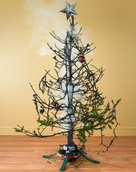burnt-christmas-tree-with-smoke