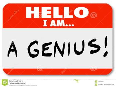 hello-i-genius-nametag-expert-brilliant-thinker-red-words-might-be-worn-very-smart-person-someone-who-31918805