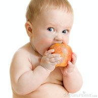 baby-boy-eating-healthy-food-isolated-19606475