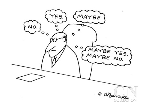 charles-barsotti-businessman-s-thoughts-no-yes-maybe-maybe-yes-maybe-no-whil-cartoon