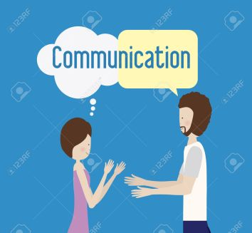 communicate, desing, vector illusttration